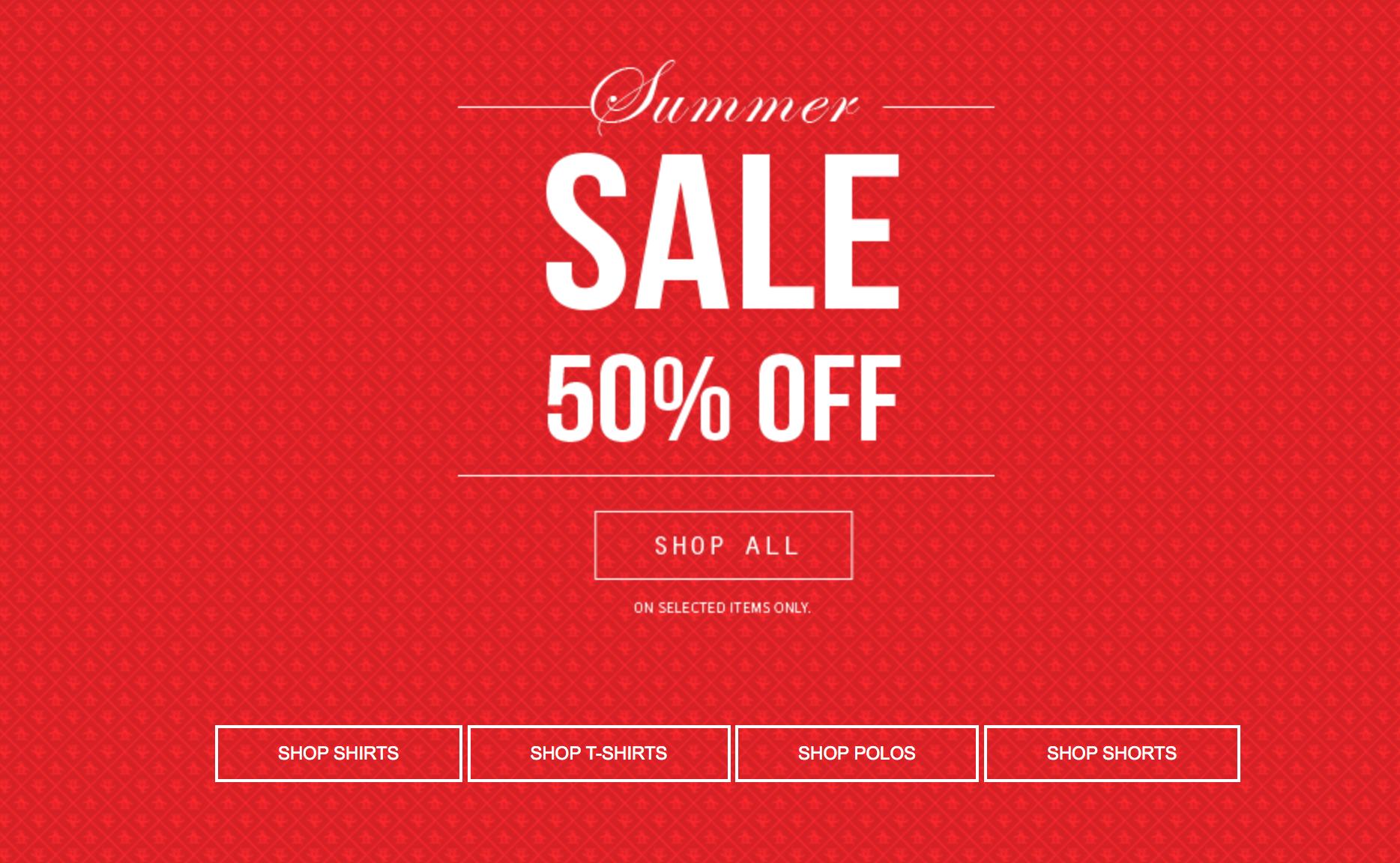 Original Penguin: summer sale up to 50% off