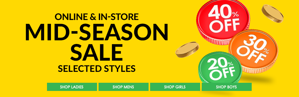 Brantano: Sale up to 40% off shoes and footwear