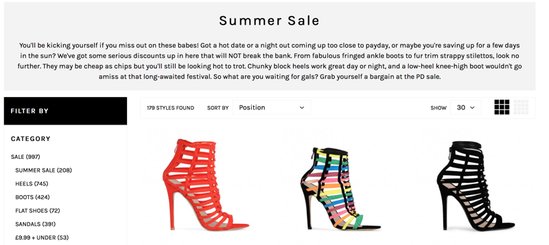 Public Desire: summer sale up to 50% off