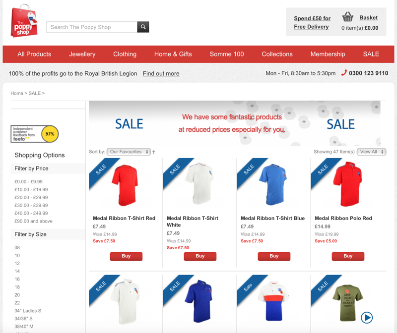 Poppy Shop: Sale up to 90% off clothing, bags and accessories