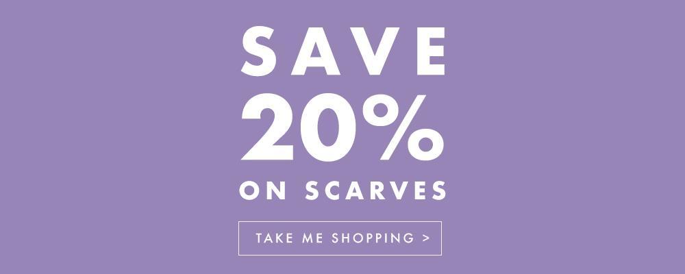 Pavers Pavers: 20% off scarves