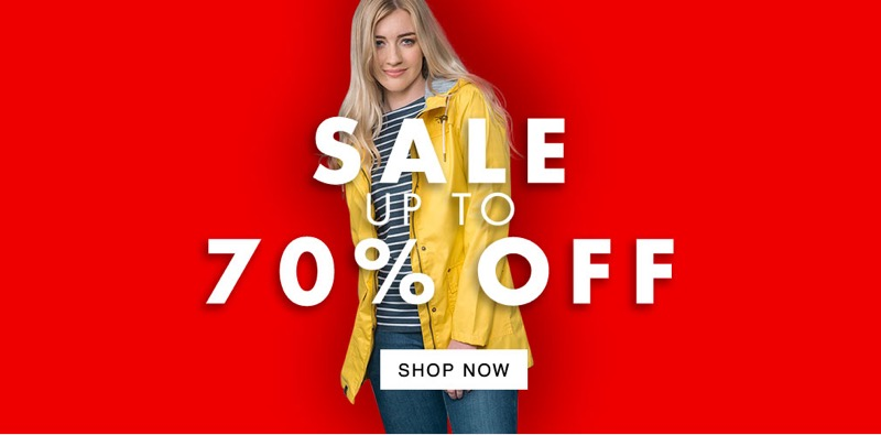Pet and Country: Sale up to 70% off outerwear, footwear and pet products