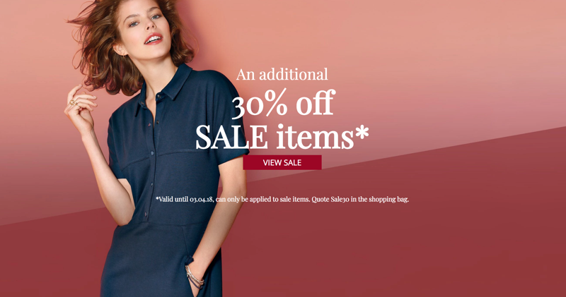 Peter Hahn: an additional 30% off sale items