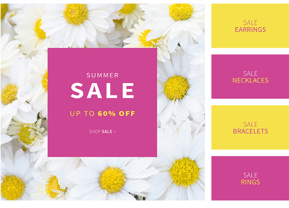 Pia Jewellery: Summer Sale up to 60% off jewellery, watches and accessories