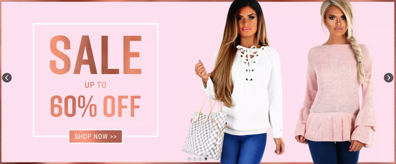 Pink Boutique: Sale up to 60% off womens fashion