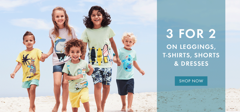 Polarn O Pyret: 3 for 2 off on leggins, t-shirts, shorts & dresses