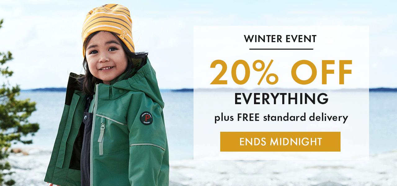 Polarn O Pyret Polarn O Pyret: 20% off kids clothing