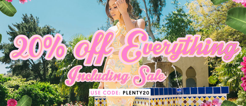 PrettyLittleThing PrettyLittleThing: 20% off everything, including sale