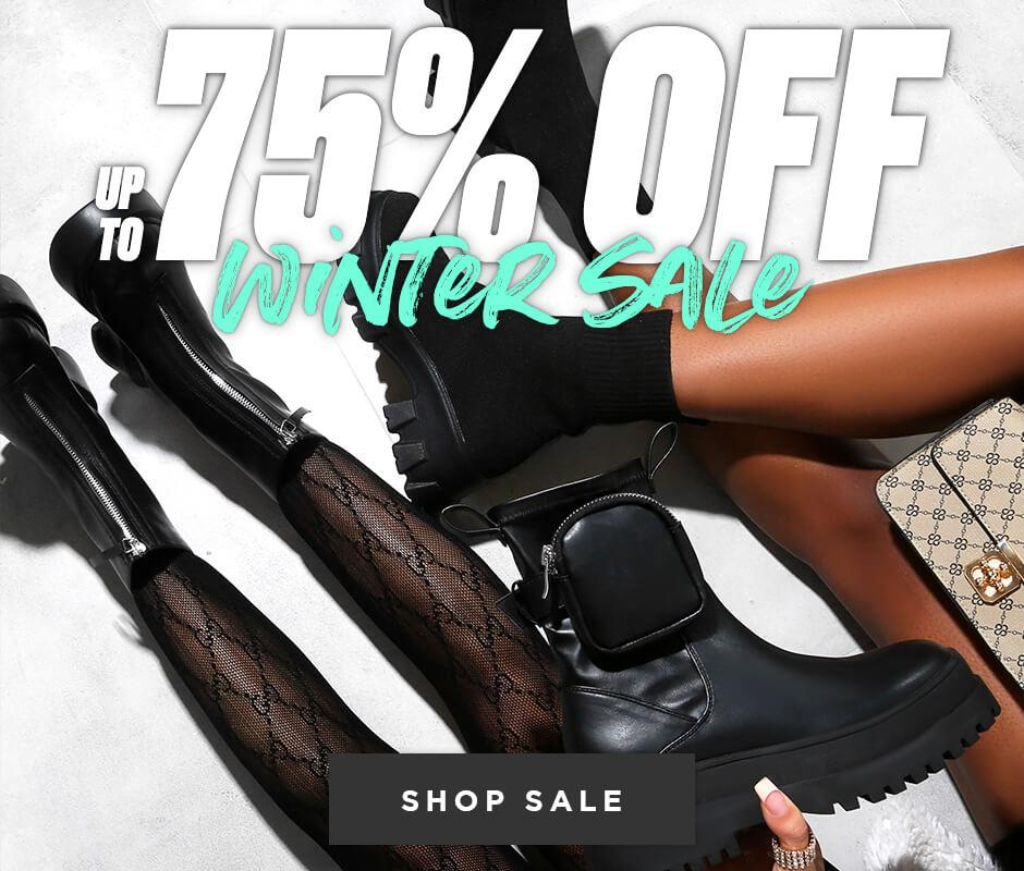 Public Desire: Winter Sale up to 75% off women's fashion boots