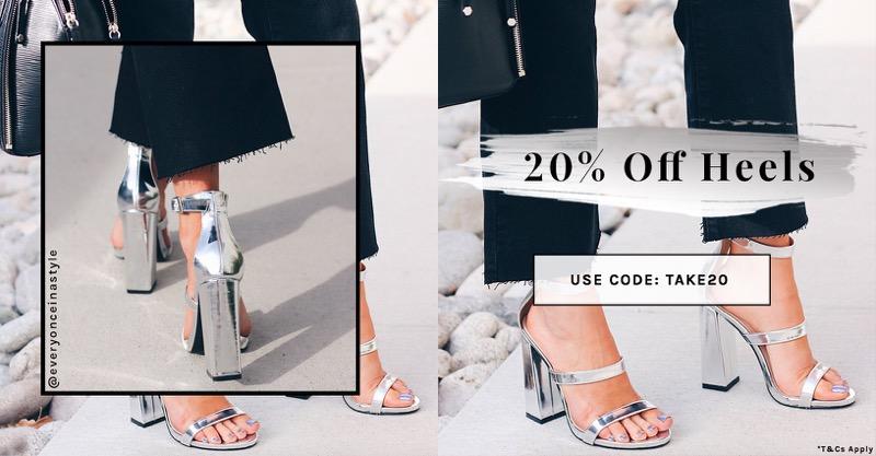 Public Desire Public Desire: 20% off high heels