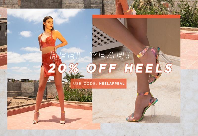 Public Desire Public Desire: 20% off heels