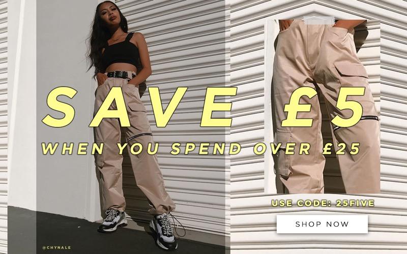 Public Desire: save £5 when you spend £25