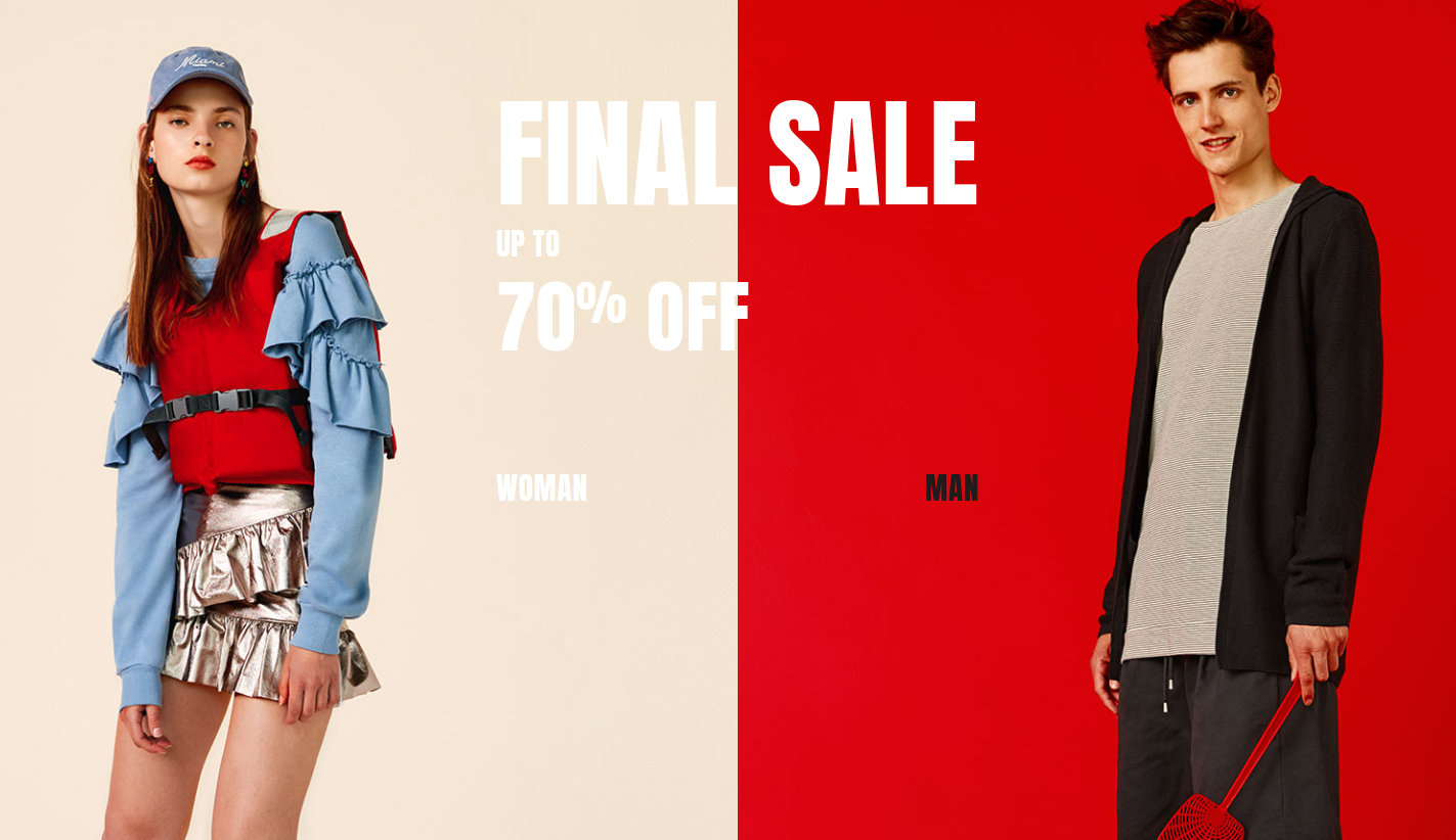 Pull&Bear: Sale up to 70% off women and men clothing, shoes and accessories