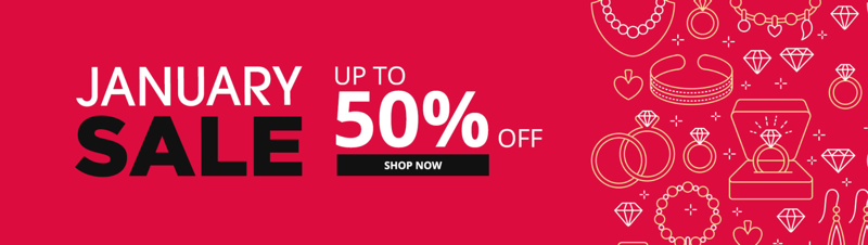 QP Jewellers: Sale up to 50% off jewellery