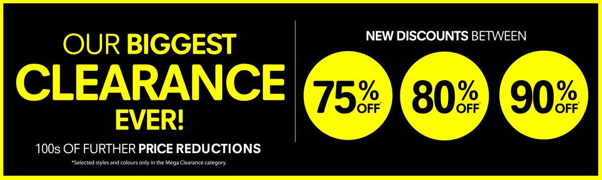 Regatta: Biggest Clearance between 75% off and 90% off clothes and shoes