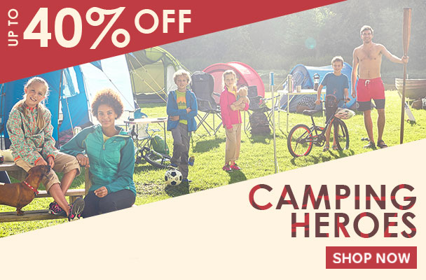 Regatta: Sale up to 40% off camping equipment