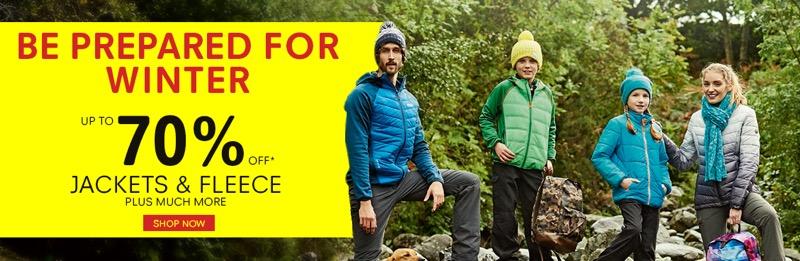 Regatta Outlet: Sale up to 70% off jackets & fleece