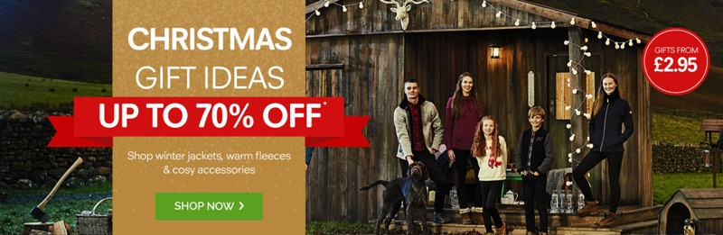 Regatta Outlet: up to 70% off winter jackets, warm fleeces and cosy accessories