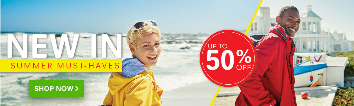 Regatta Outlet: Sale up to 50% off summer must haves