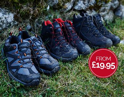 Regatta Outlet Regatta Outlet: walking boots from £19,95