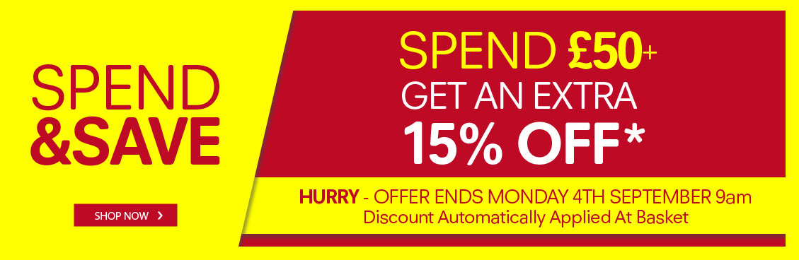Regatta Outlet: 15% off when you spend £50 or more