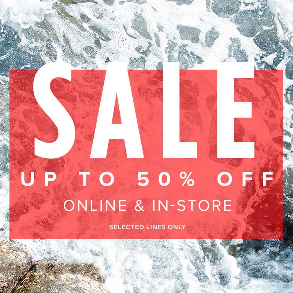 River Island: sale up to 50% off