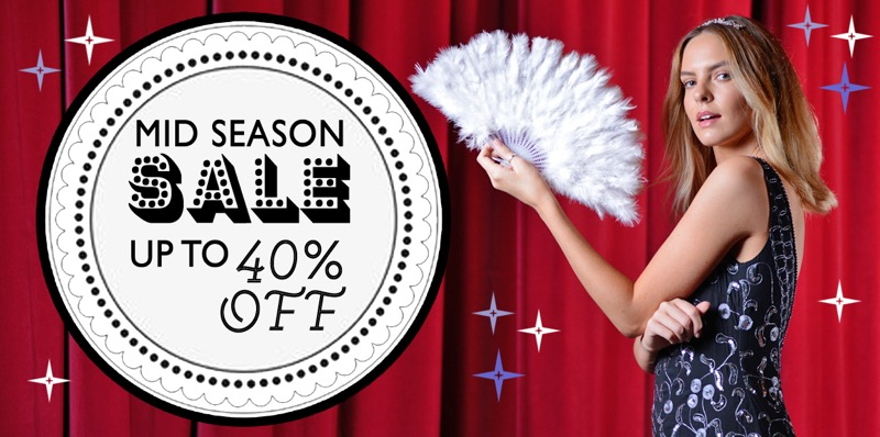 Rock My Vintage: Mid Season Sale up to 40% off dresses