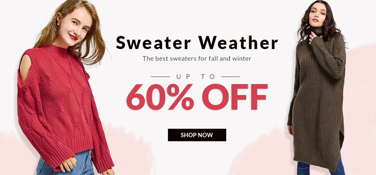 RoseGal RoseGal: Sale up to 60% off sweaters