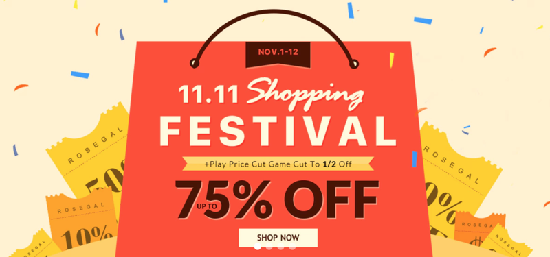 RoseGal: up to 70% off clothing, accessories and home accessories