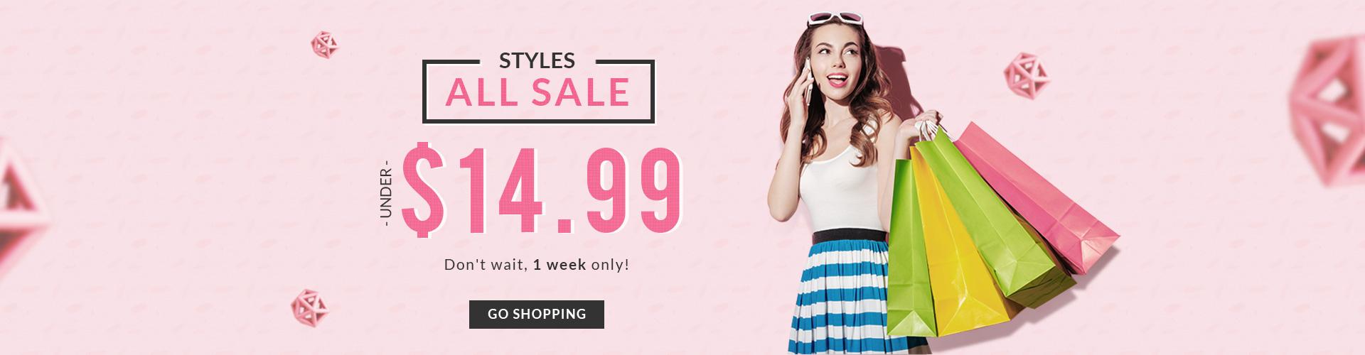 RoseGal RoseGal: clothing & accessories under $14.99