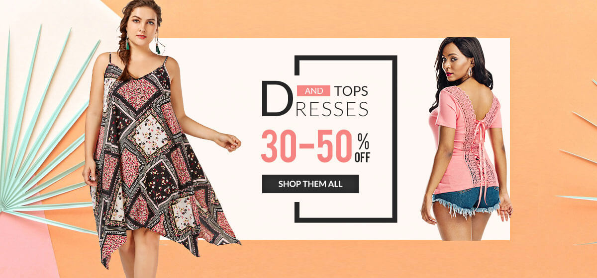 RoseGal RoseGal: Sale from 30% to 50% off dresses and tops