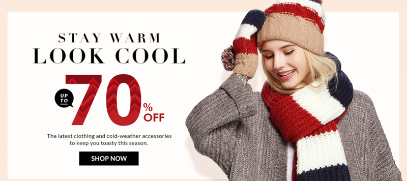 RoseGal RoseGal: up to 70% off the latest clothing and cold-weather accessories