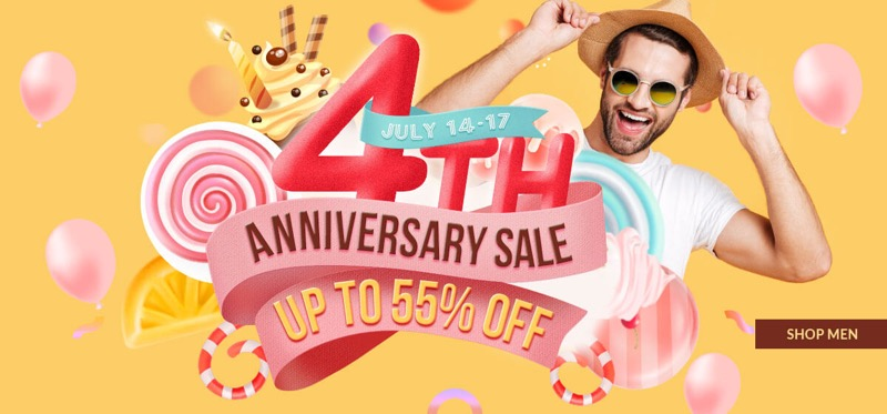 RoseGal RoseGal: Sale up to 55% off mens fashion