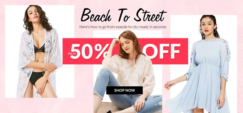 RoseGal RoseGal: Sale up to 50% off beach to street outfits