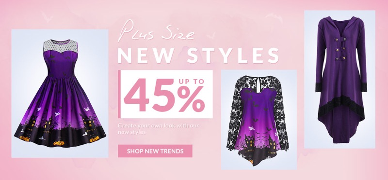 RoseGal RoseGal: up to 45% off plus size clothing