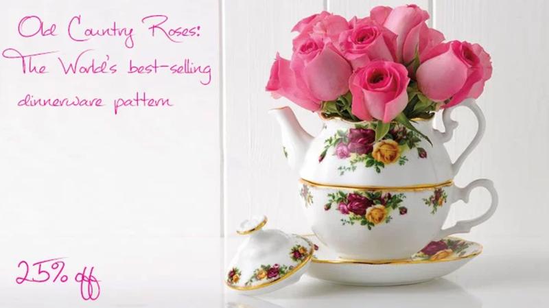 Royal Albert: Sale 25% off dinnerware pattern