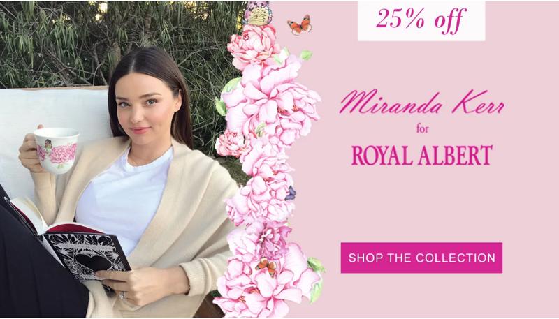 Regatta Outlet Regatta Outlet: 25% off Miranda Kerr collection