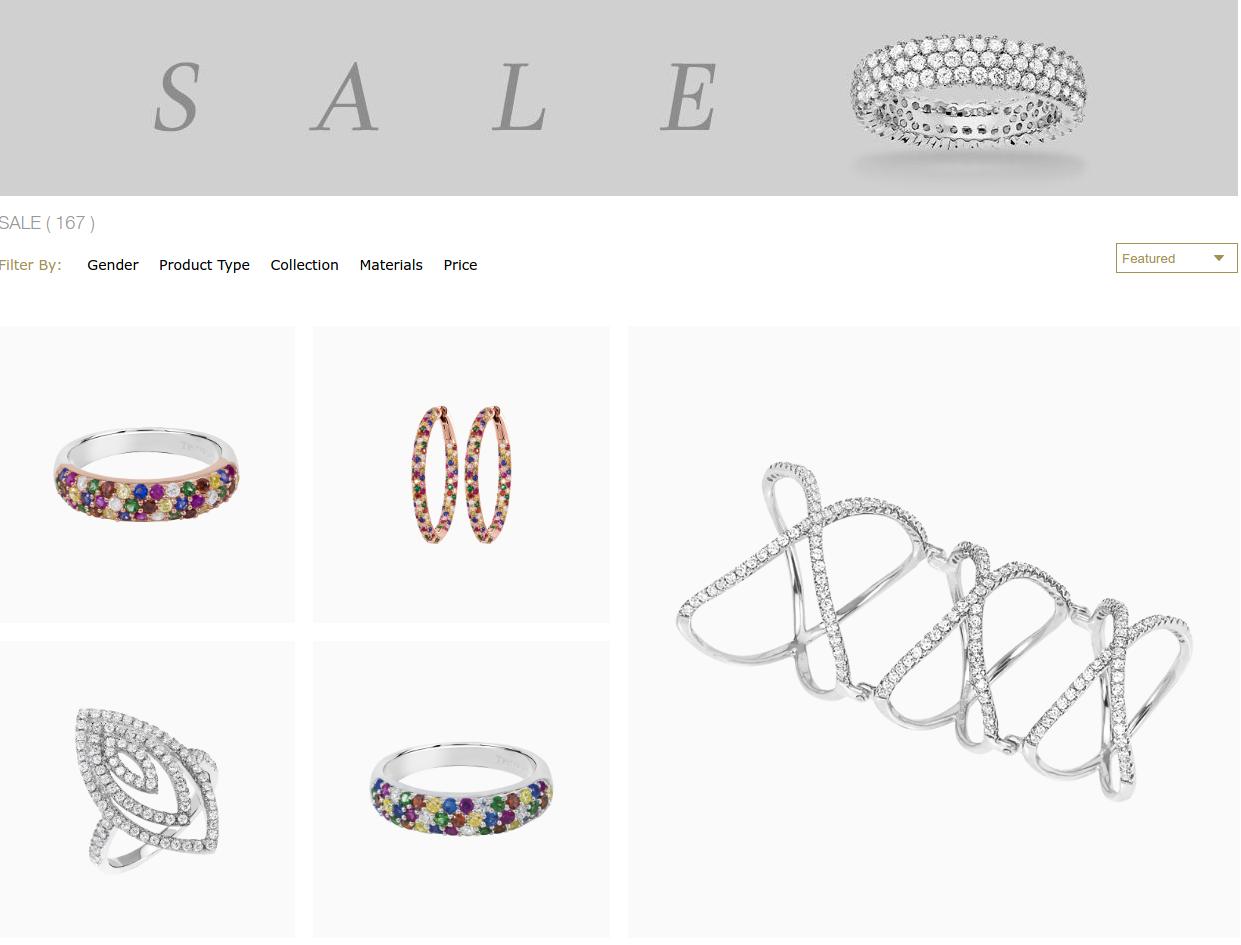 Tresor Paris: Sale up to 50% off jewellery