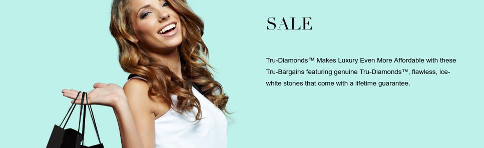 Tru Diamonds: Sale up to 50% off jewellery