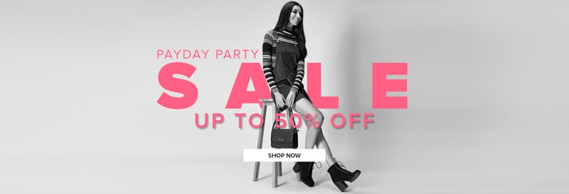 Select Fashion: Sale up to 50% off women's clothing