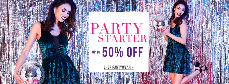 Select Fashion Select Fashion: up to 50% off partywear