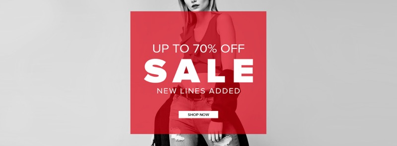 Select Fashion: Sale up to 70% off women's clothing