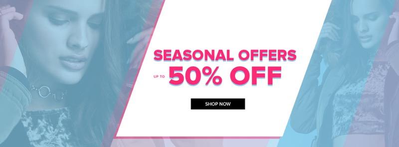 Select Fashion: up to 50% off womens fashion