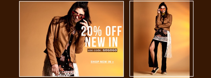Select Fashion Select Fashion: 20% off new in women's clothing