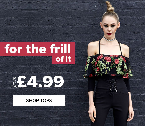 Select Fashion: tops from £4.99