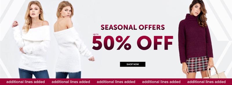 Select Fashion Select Fashion: up to 50% off womens fashion clothes