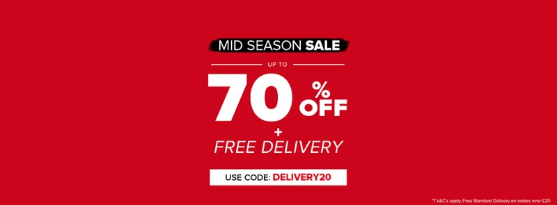 Select Fashion Select Fashion: Mid Season Sale up to 70% off women's clothing