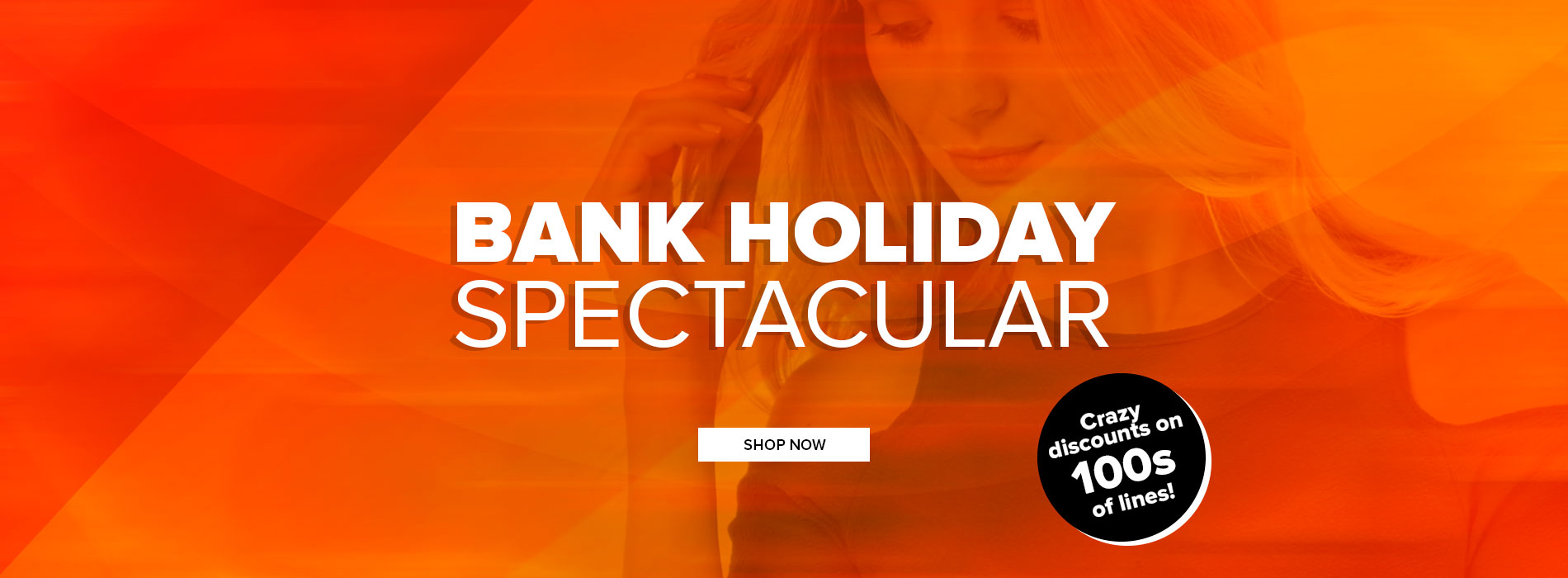 Select Fashion: Bank Holiday Spectacular with crazy discounts on 100s of new-in season's lines