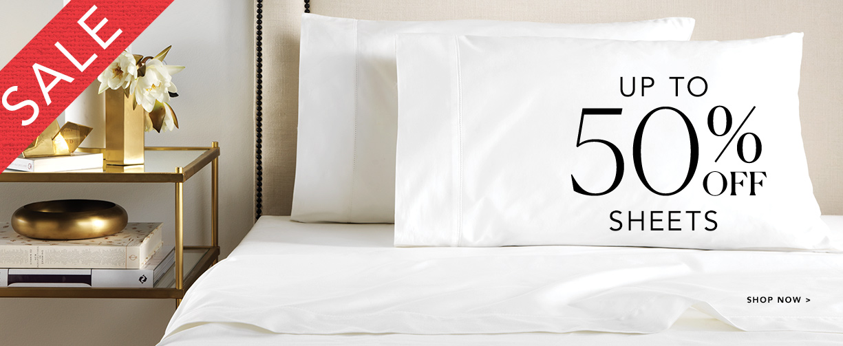 Sheridan Sheridan: Sale up to 50% off sheets