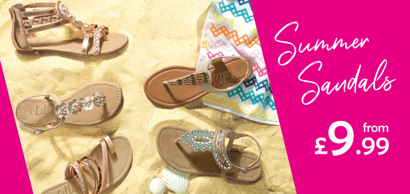 Shoe Zone Shoe Zone: summer sandals from £9.99